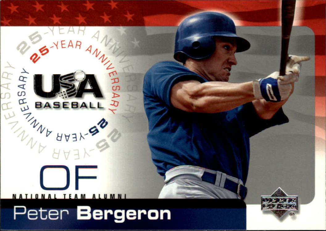 2004 USA Baseball 25th Anniversary #15 Peter Bergeron