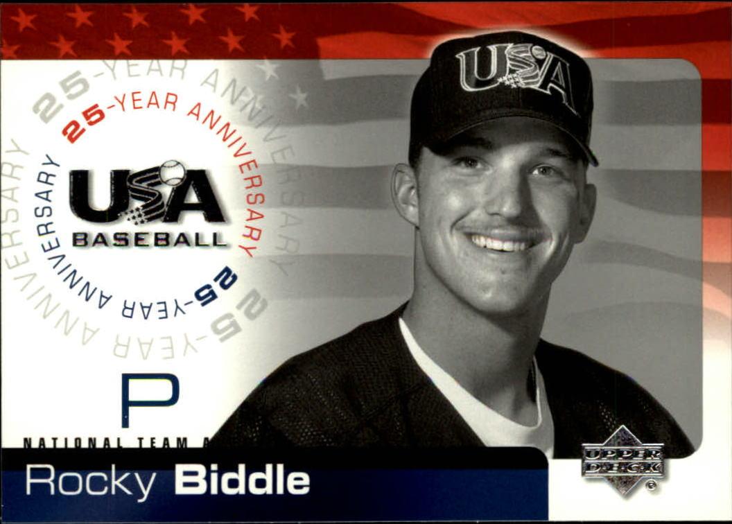 2004 USA Baseball 25th Anniversary #16 Rocky Biddle