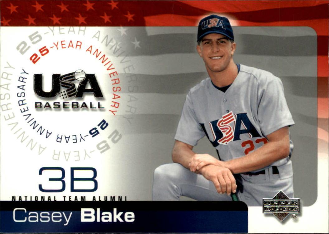 2004 USA Baseball 25th Anniversary #17 Casey Blake