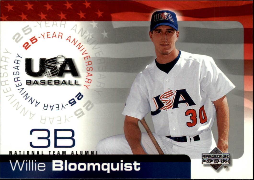2004 USA Baseball 25th Anniversary #18 Willie Bloomquist