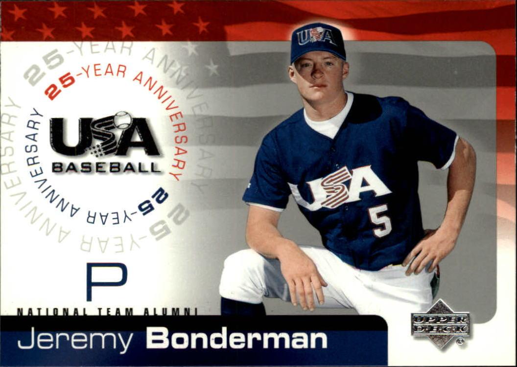 2004 USA Baseball 25th Anniversary #19 Jeremy Bonderman