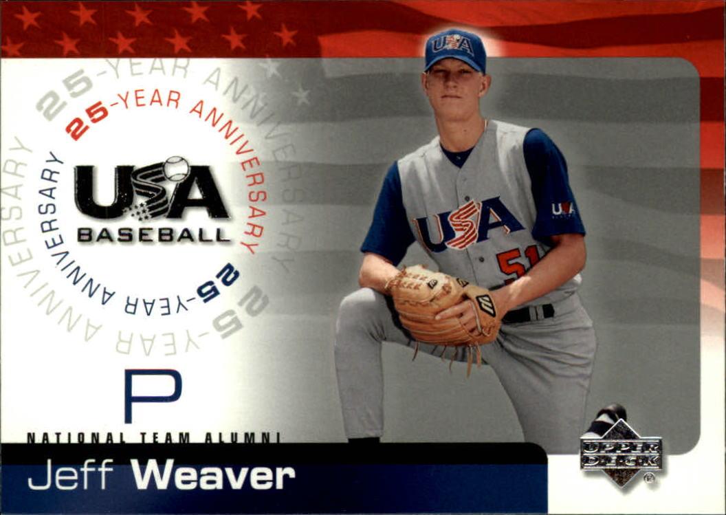 2004 USA Baseball 25th Anniversary #20 Jeff Weaver