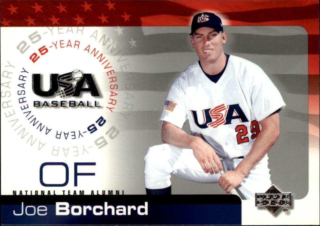 2004 USA Baseball 25th Anniversary #21 Joe Borchard