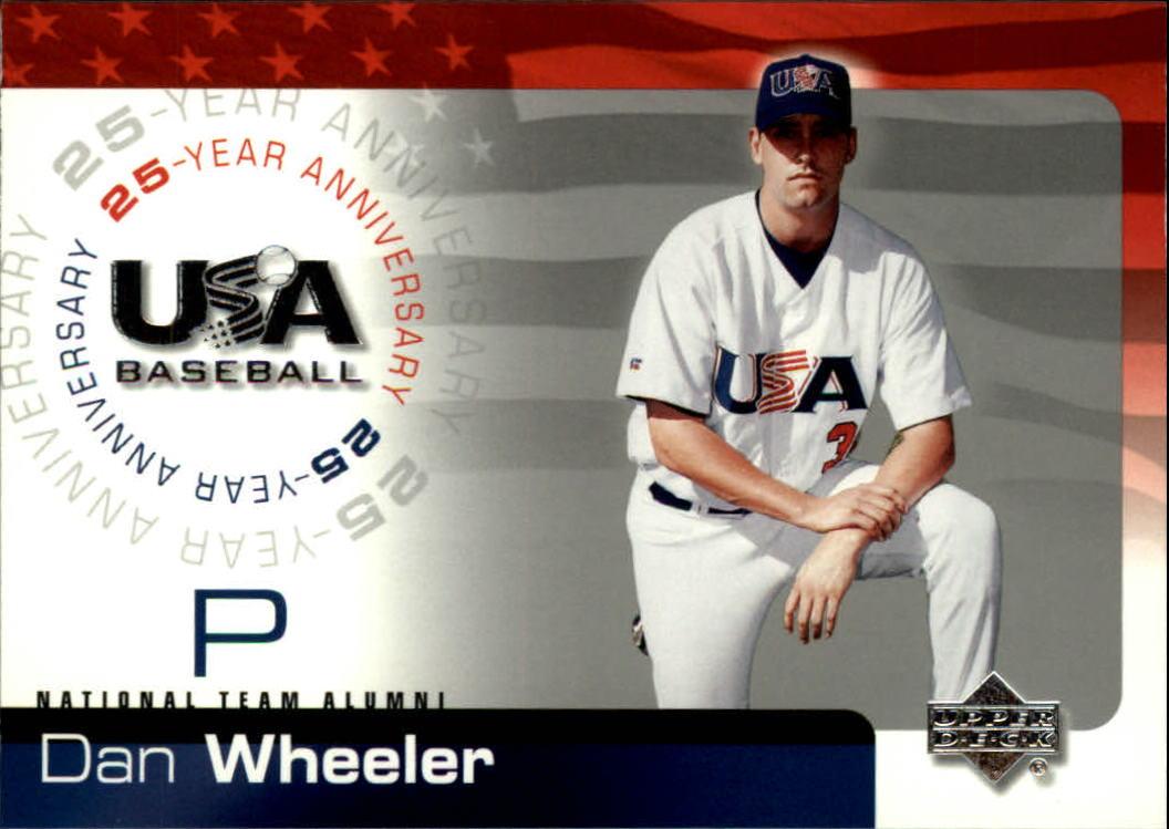 2004 USA Baseball 25th Anniversary #25 Dan Wheeler