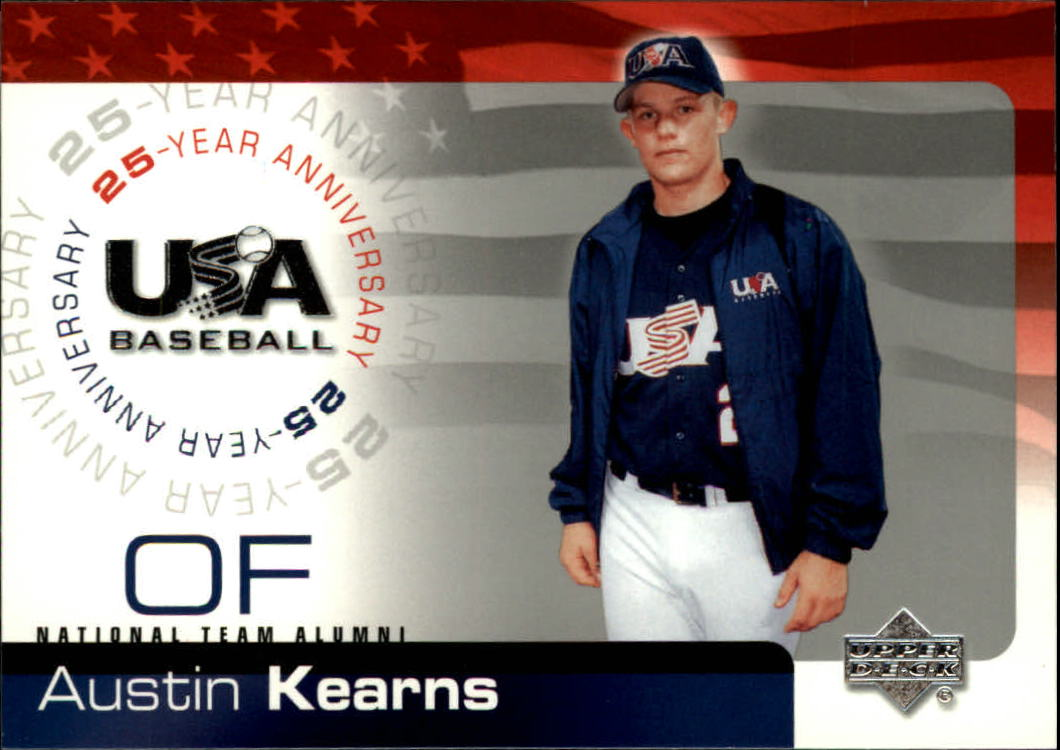 2004 USA Baseball 25th Anniversary #95 Austin Kearns