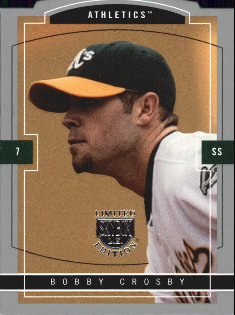 2004 SkyBox LE #115 Bobby Crosby PR/299
