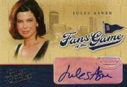2004 Leather and Lumber Fans of the Game Autographs #5 Jules Asner SP/300