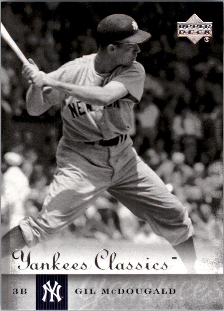 2004 UD Yankees Classics #25 Gil McDougald