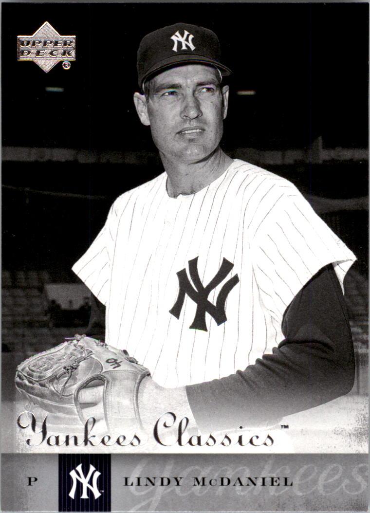 2004 UD Yankees Classics #43 Lindy McDaniel