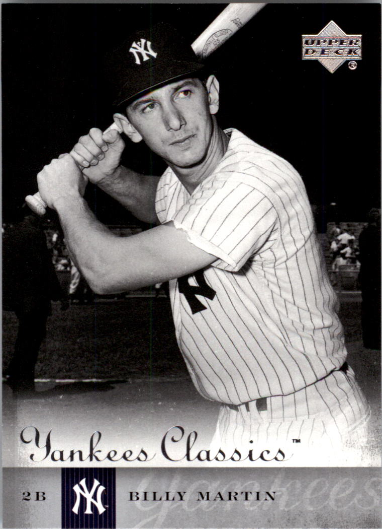 2004 UD Yankees Classics #73 Billy Martin