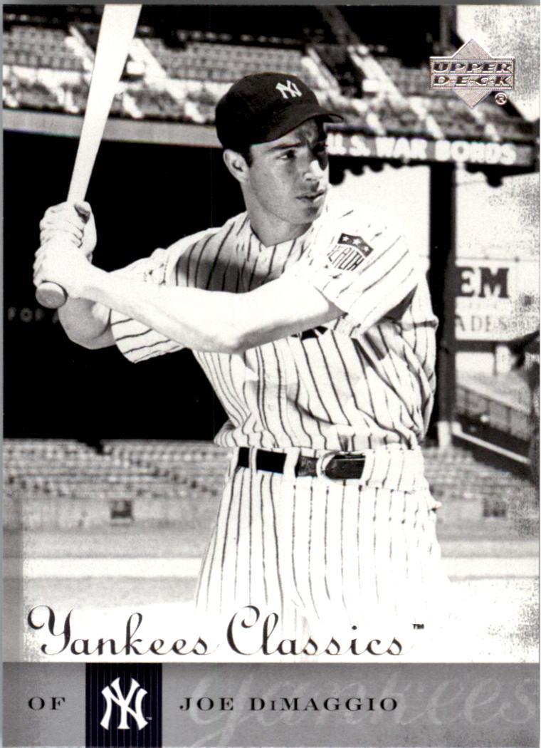 2004 UD Yankees Classics #78 Joe DiMaggio