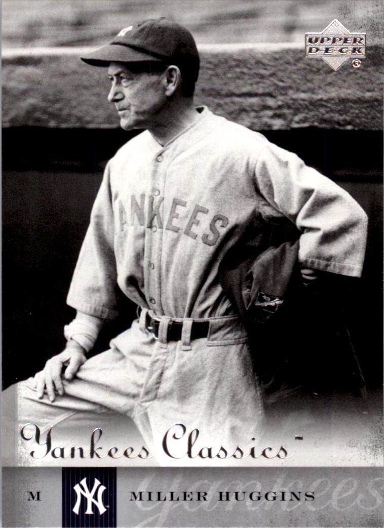 2004 UD Yankees Classics #82 Miller Huggins