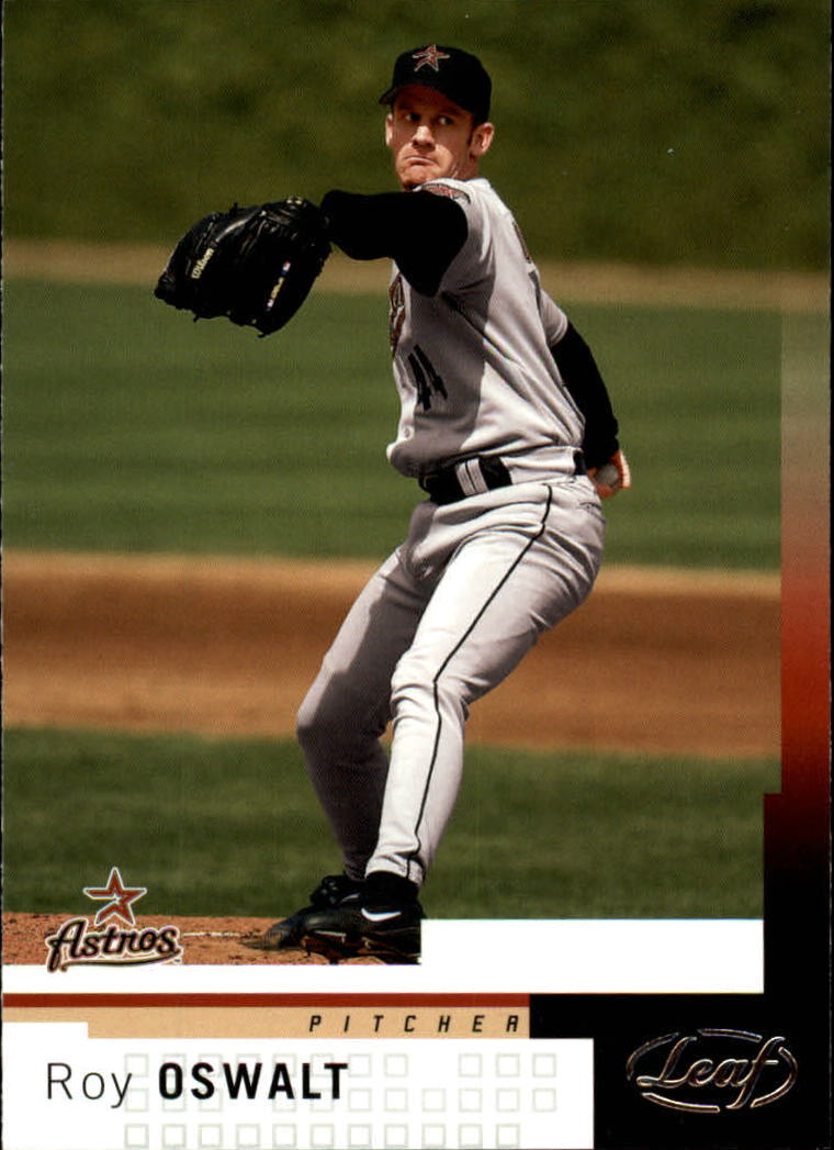 2004 Leaf #142 Roy Oswalt