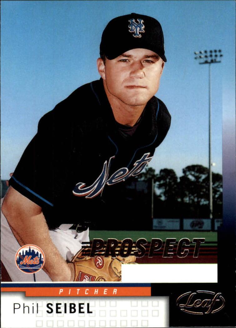 2004 Leaf #228 Phil Seibel PROS