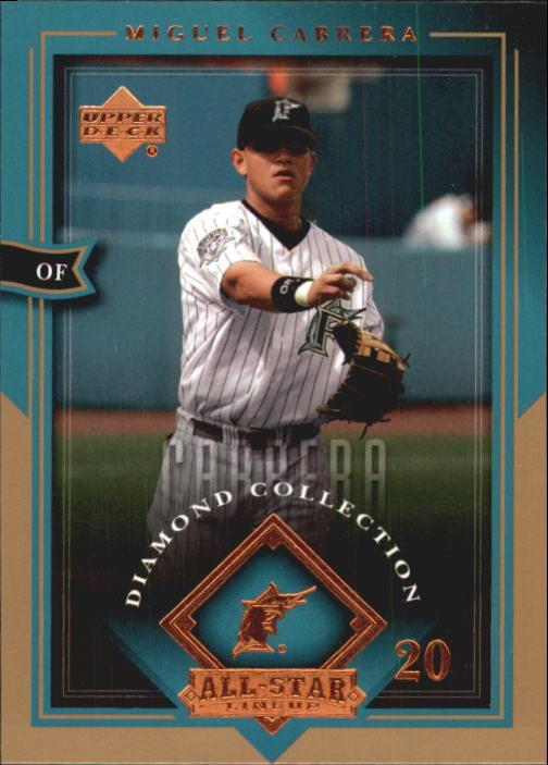 2004 UD Diamond All-Star #35 Miguel Cabrera