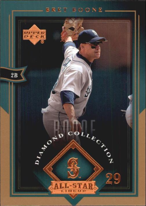 2004 UD Diamond All-Star #78 Bret Boone