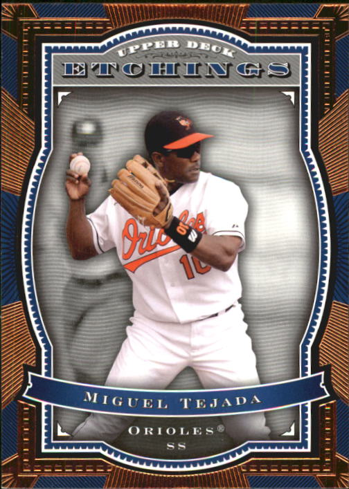 2004 Upper Deck Etchings #39 Miguel Tejada