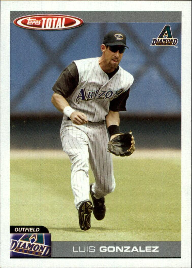 2004 Topps Total #210 Luis Gonzalez