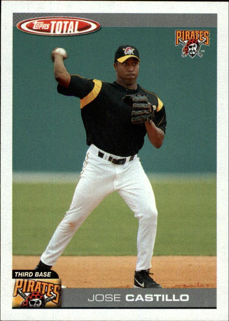 2004 Topps Total #496 Jose Castillo