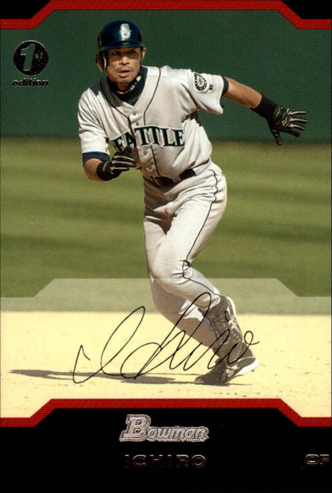 2004 Bowman 1st Edition #118 Ichiro Suzuki