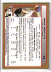 2004 Bowman Gold #34 Mark Prior back image