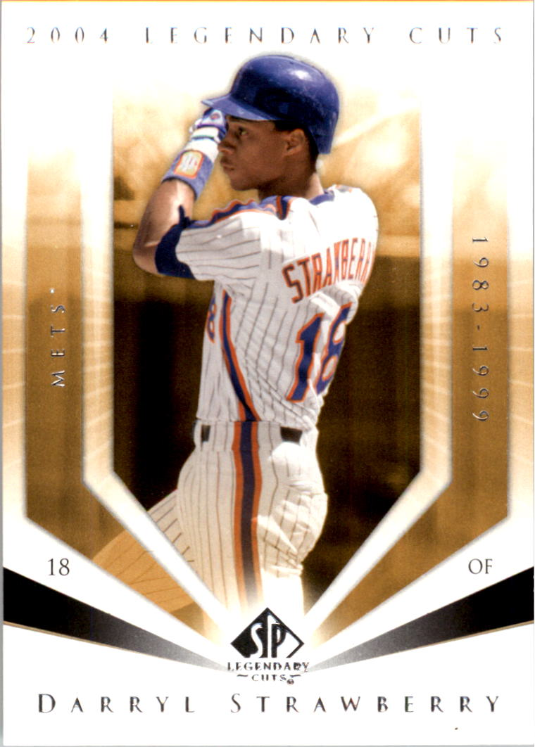 2004 SP Legendary Cuts #20 Darryl Strawberry
