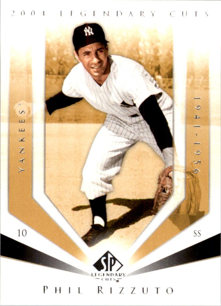 2004 SP Legendary Cuts #90 Phil Rizzuto