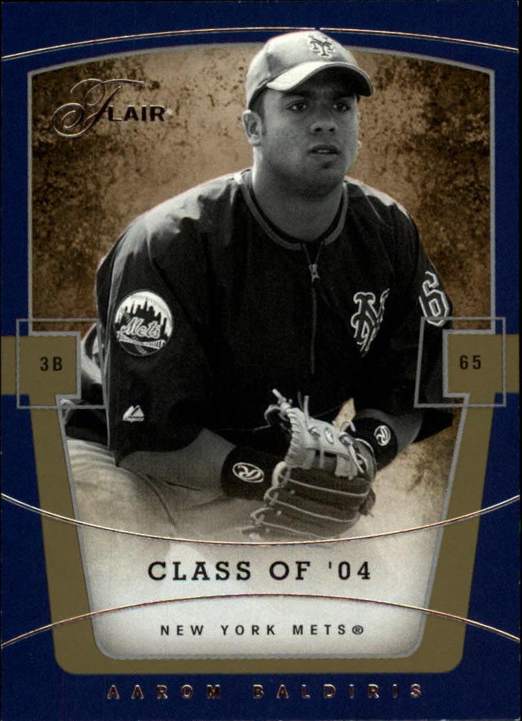 2004 Flair #81 Aaron Baldiris C04 RC