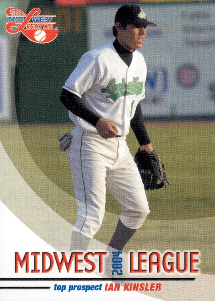 2004 Midwest League Top Prospects Grandstand #10 Ian Kinsler
