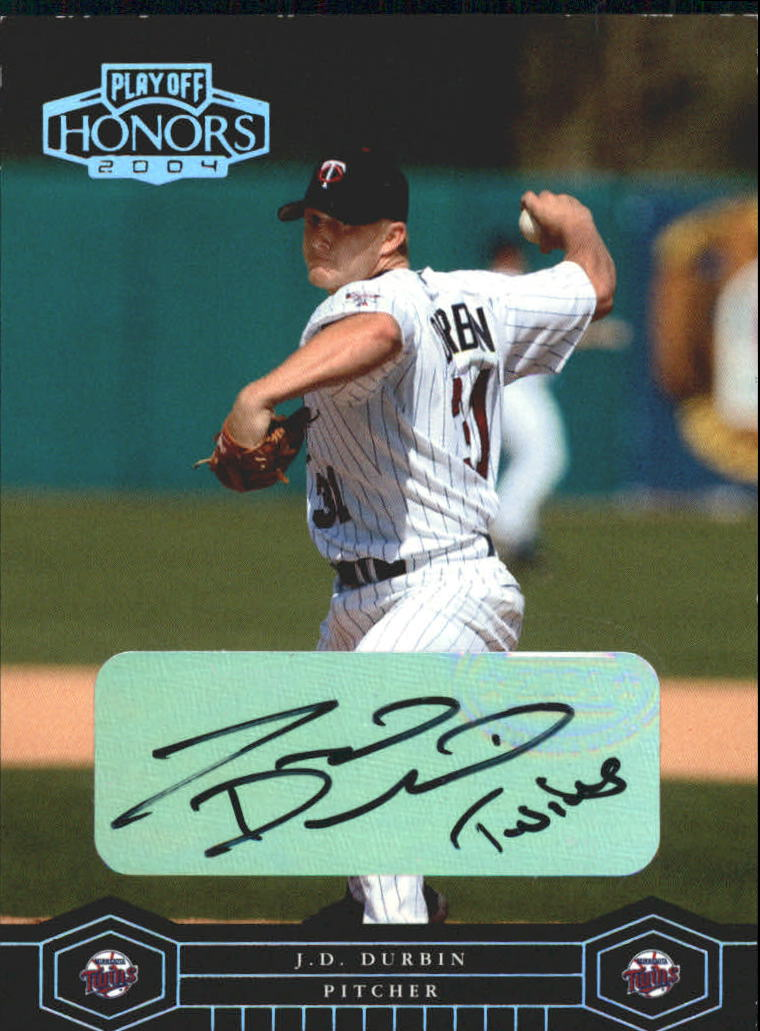 2004 Playoff Honors Signature Silver #113 J.D. Durbin/100