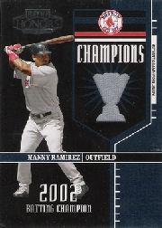 2004 Playoff Honors Champions Jersey #18 Manny Ramirez/250