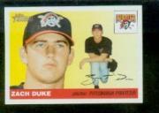 2004 Topps Heritage #164 Zach Duke SP RC