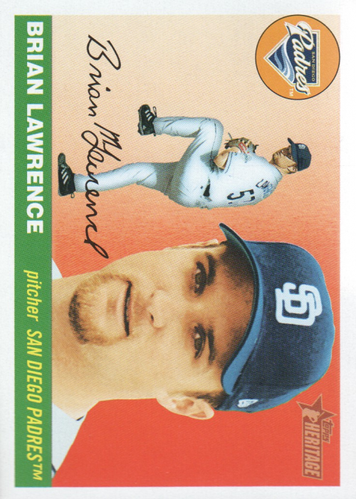 2004 Topps Heritage #197 Brian Lawrence
