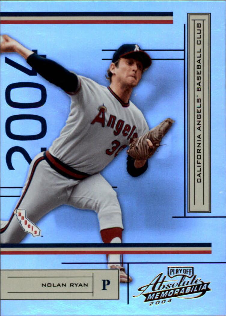 2004 Absolute Memorabilia #6 Nolan Ryan Angels