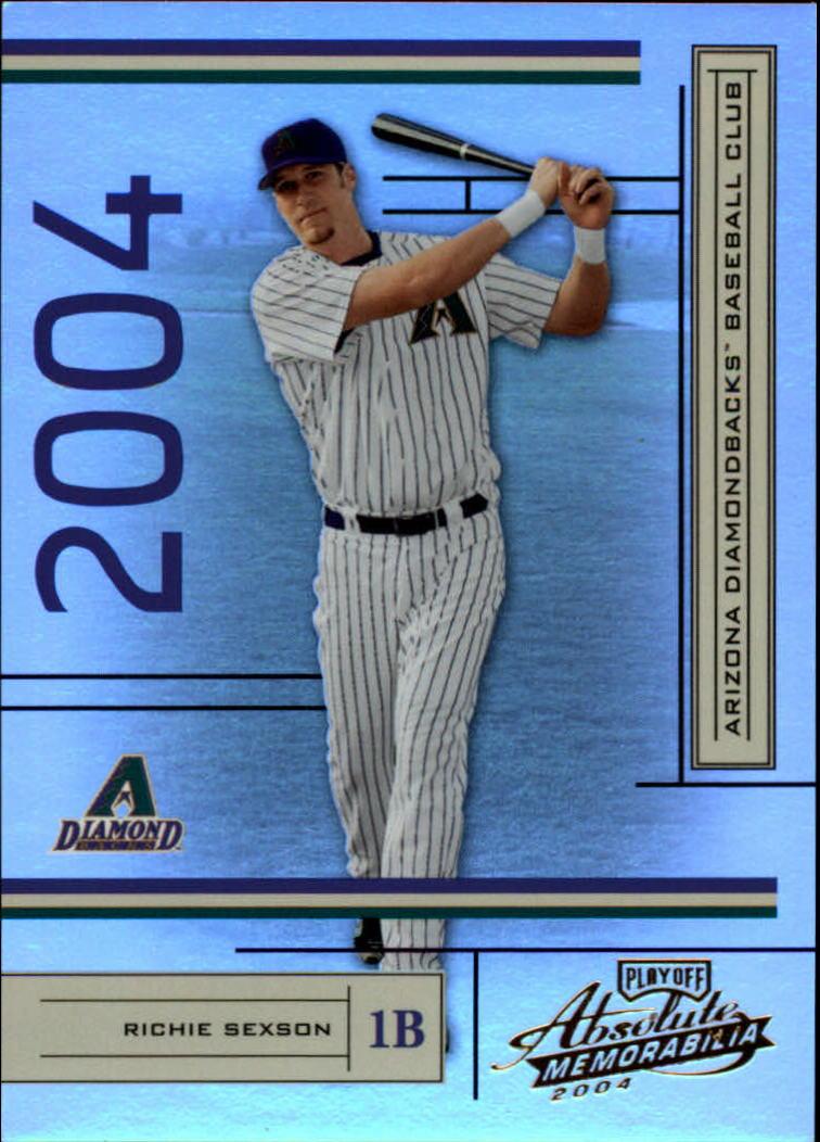 2004 Absolute Memorabilia #8 Richie Sexson