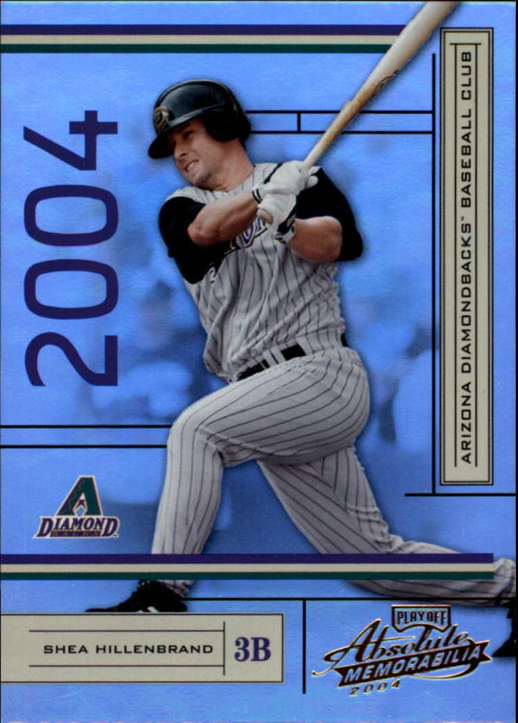 2004 Absolute Memorabilia #9 Shea Hillenbrand