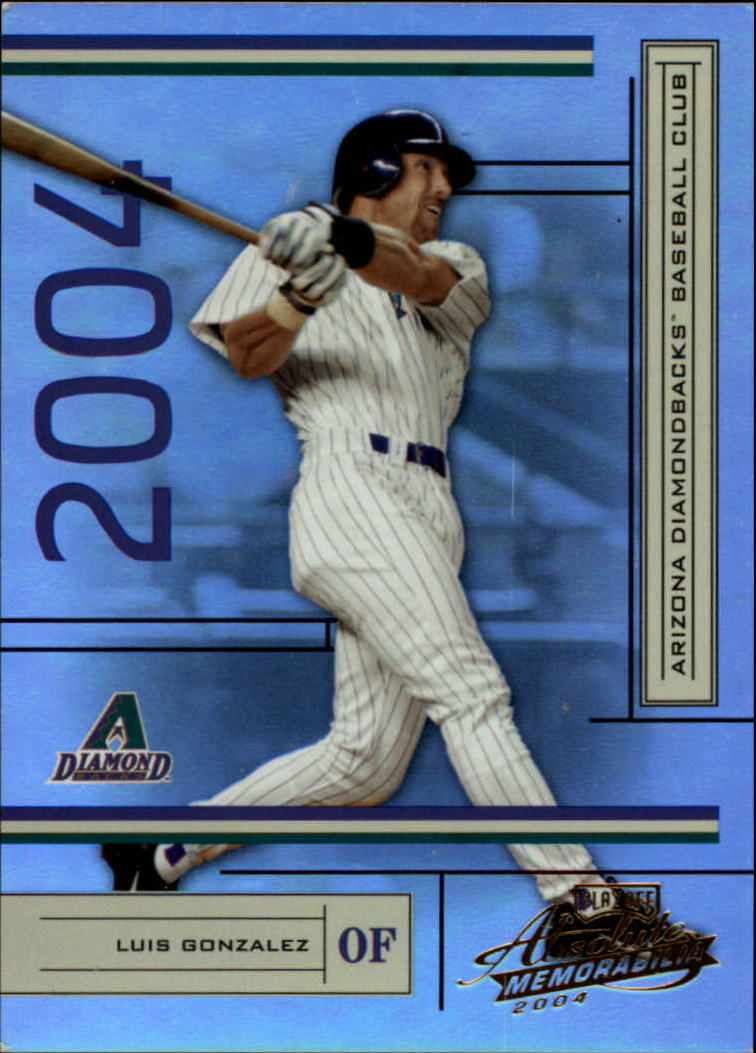 2004 Absolute Memorabilia #10 Luis Gonzalez