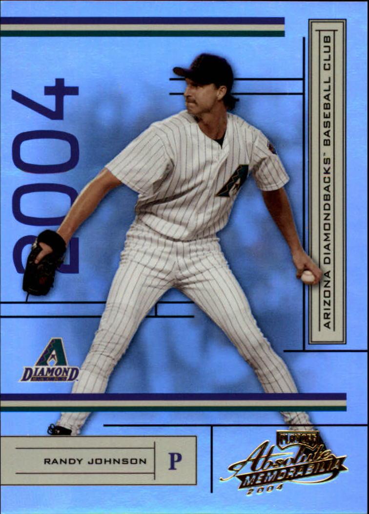 2004 Absolute Memorabilia #12 Randy Johnson