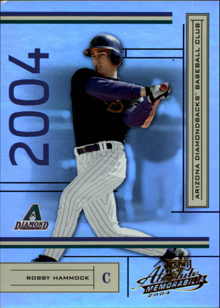 2004 Absolute Memorabilia #13 Robby Hammock