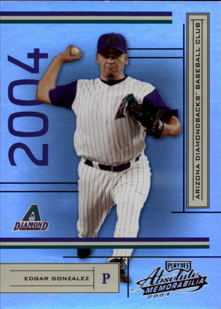 2004 Absolute Memorabilia #14 Edgar Gonzalez