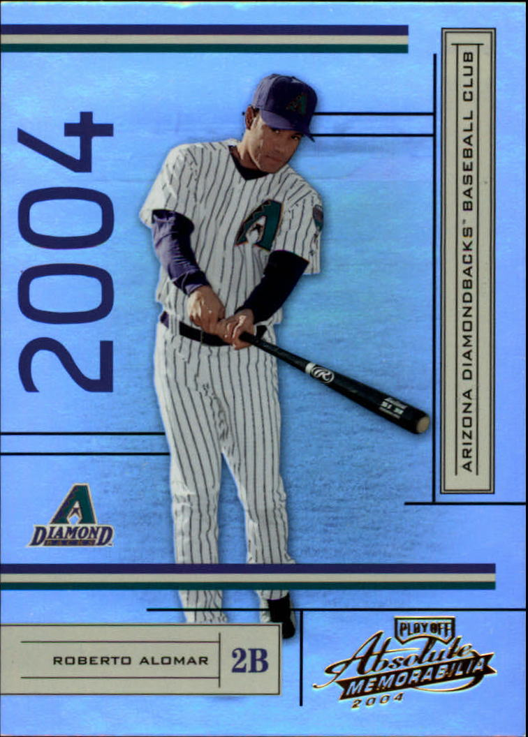 2004 Absolute Memorabilia #15 Roberto Alomar