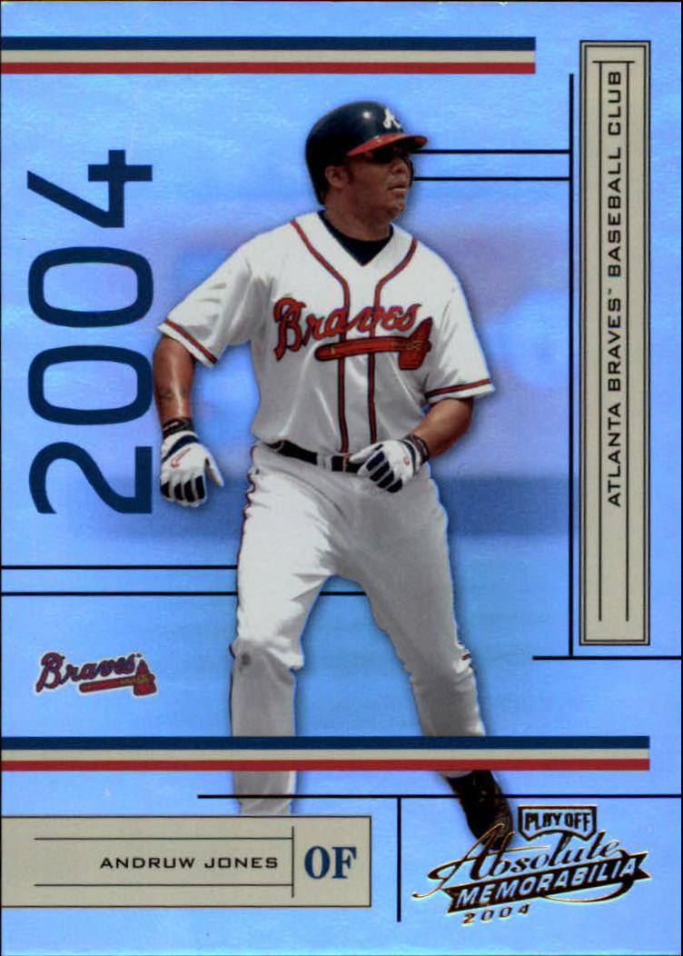 2004 Absolute Memorabilia #16 Andruw Jones