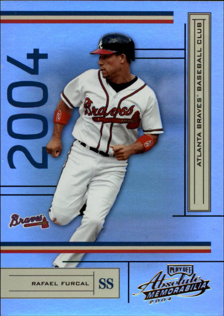 2004 Absolute Memorabilia #19 Rafael Furcal