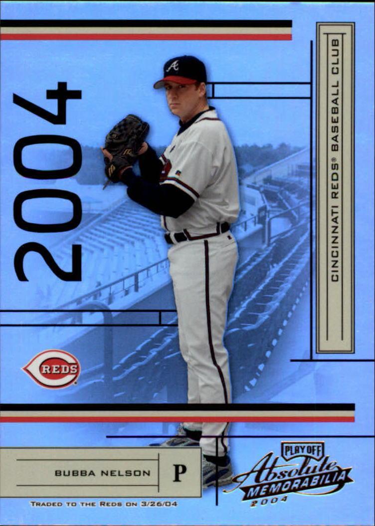 2004 Absolute Memorabilia #21 Bubba Nelson