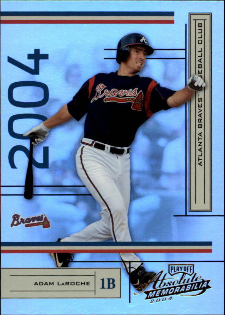 2004 Absolute Memorabilia #23 Adam LaRoche
