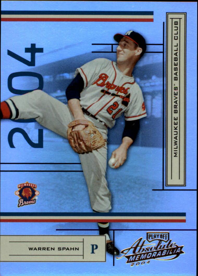 2004 Absolute Memorabilia #25 Warren Spahn