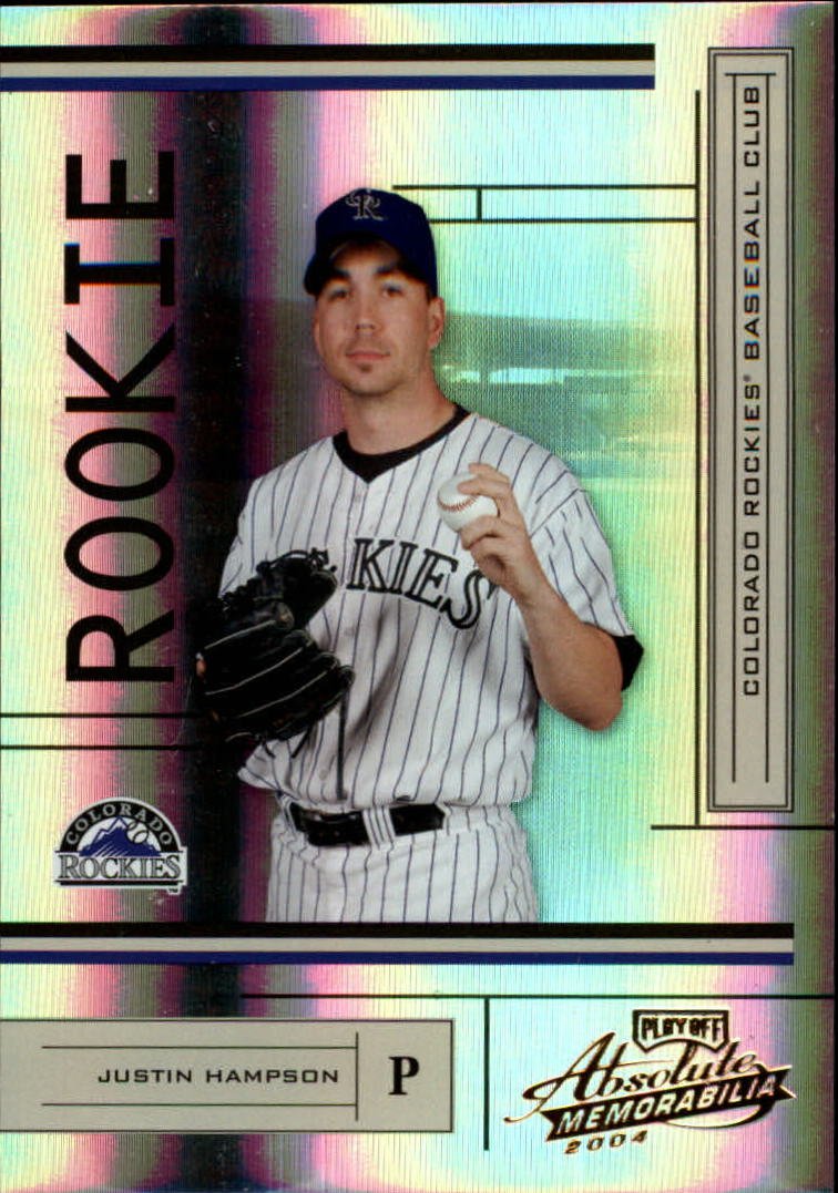 2004 Absolute Memorabilia #219 Justin Hampson/1000 RC