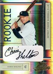 2004 Absolute Memorabilia #225 Chris Shelton AU/500 RC