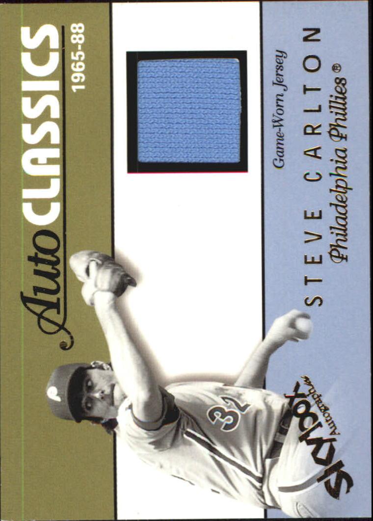 2004 SkyBox Autographics Autoclassics Memorabilia #SC Steve Carlton Jsy