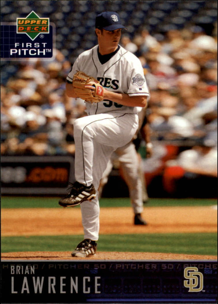 2004 Upper Deck First Pitch #228 Brian Lawrence
